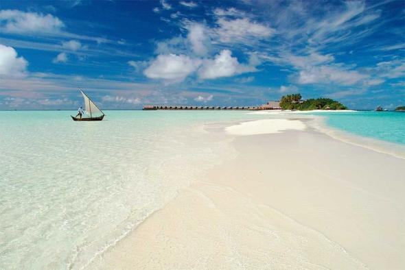 El exclusivo Cocoa Island Resort. Foto de: El Periódico.
