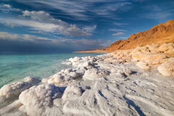 El Mar Muerto es 8.6 veces más salado que cualquier océano.