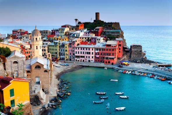 El Golfo de la Spezia también es conocido como Golof de los Poetas,  normal, ¿no?
