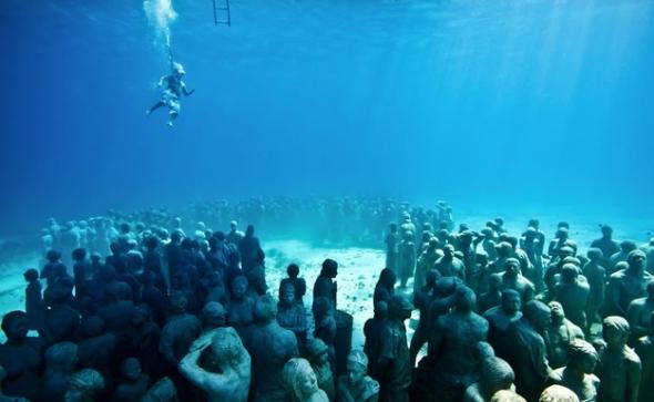 Foto de underwatersculpture.com