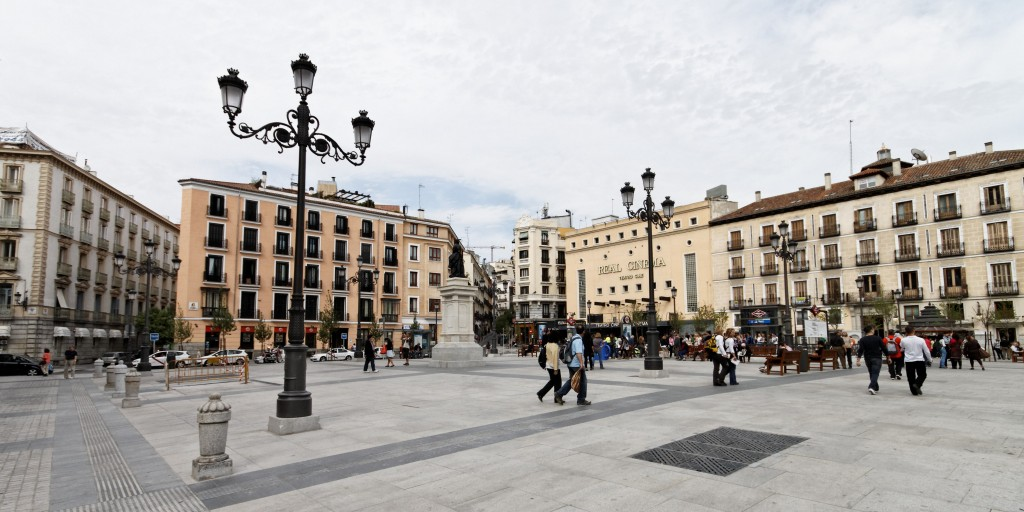 Plaza en Madrid