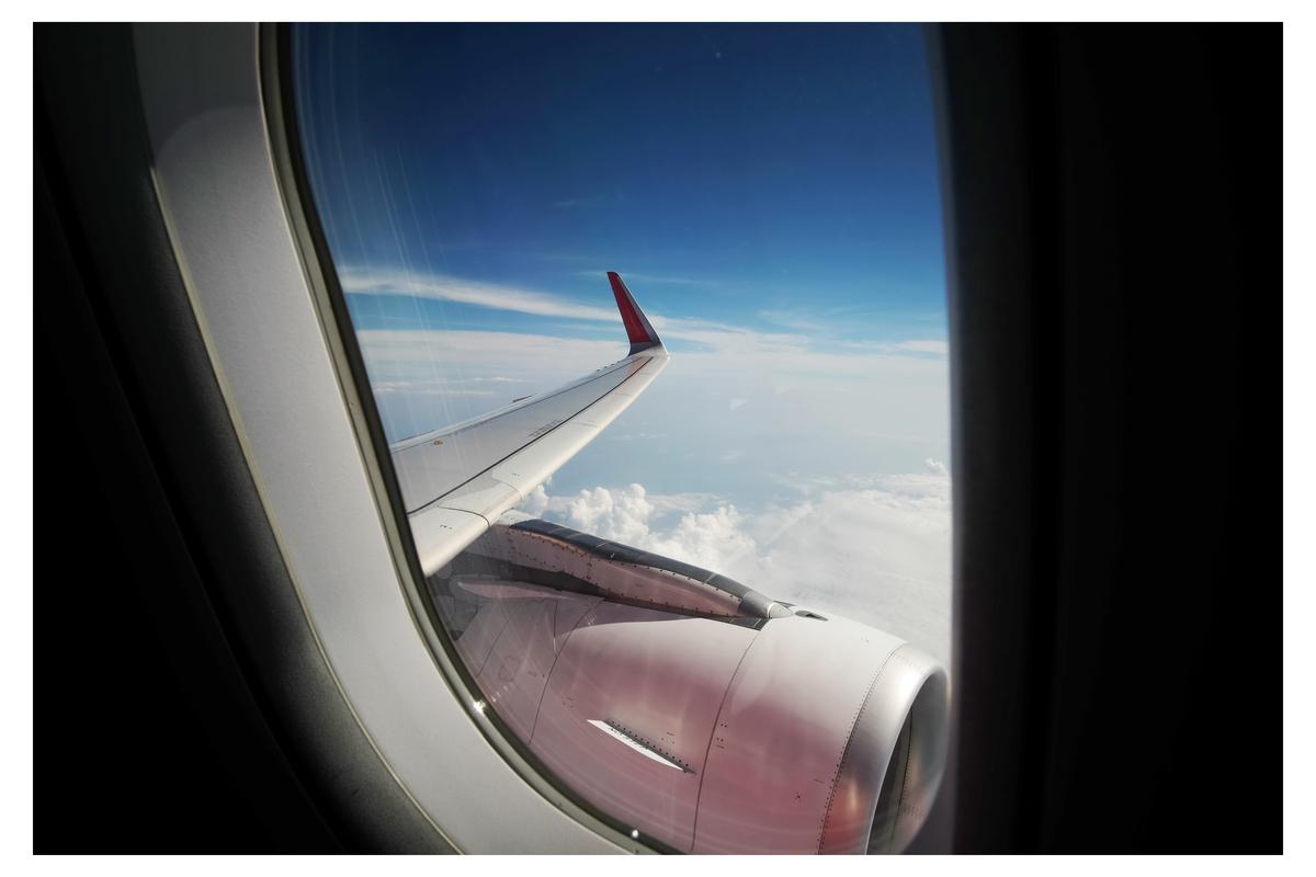 Viajar en avión vuelos