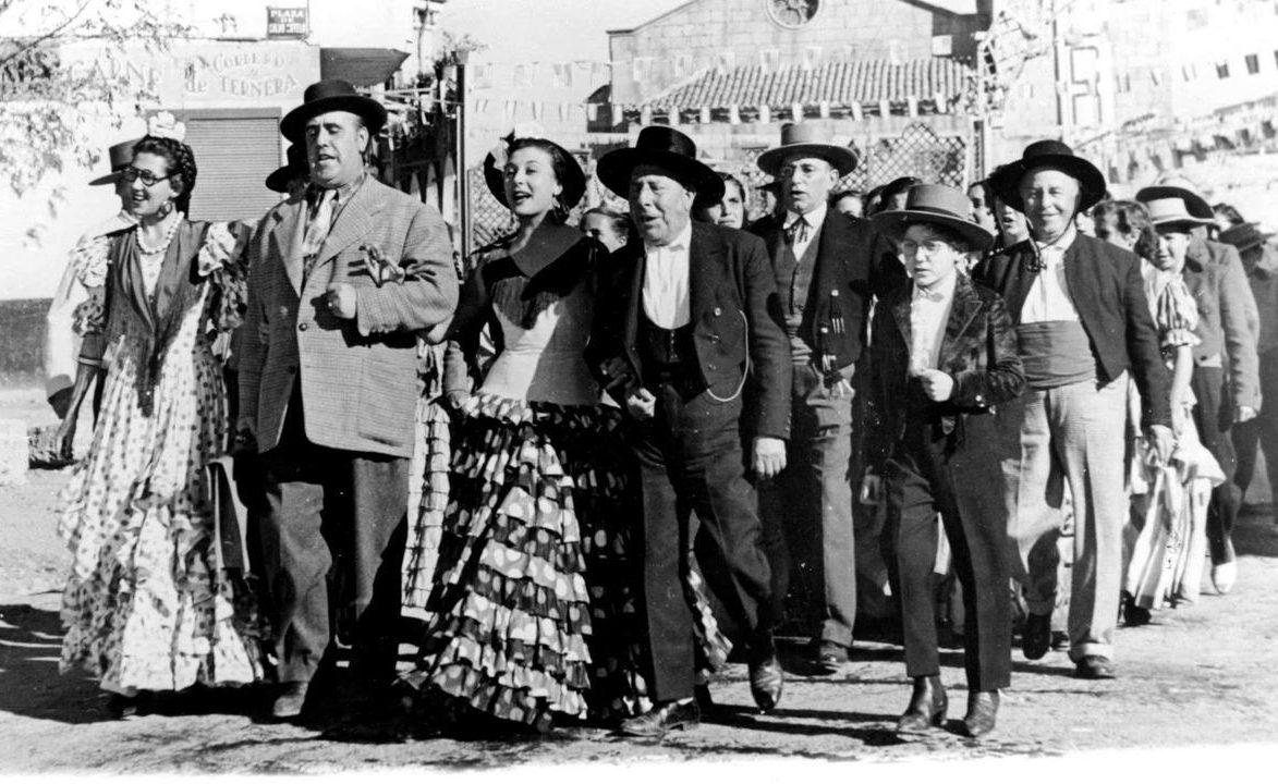 """Imagen de la película """"Bienvenido Mr. Marshall"""", de Luís García Berlanga"""